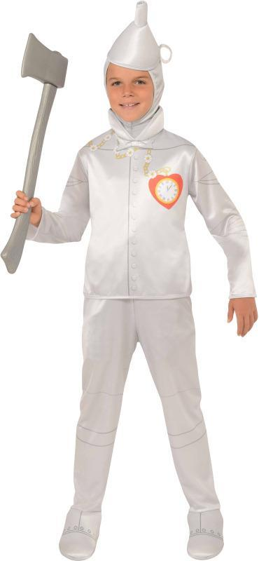 Rubies Costumes LARGE Boys Tin Man Costume - The Wizard of Oz