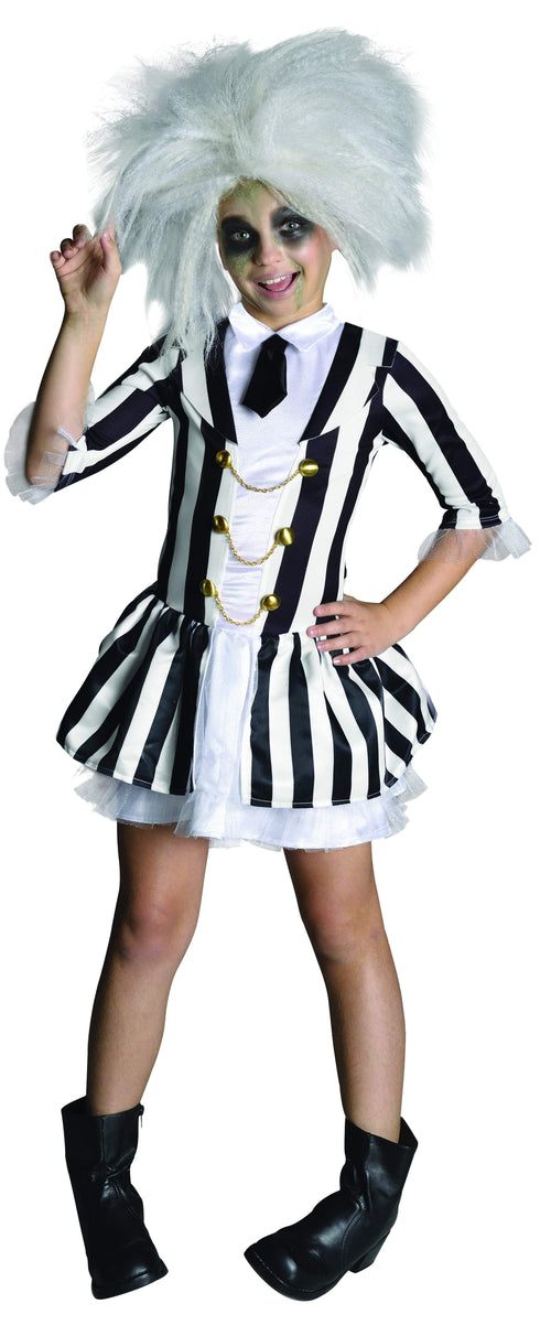 Rubies Costumes LARGE Girls Beetlejuice Costume