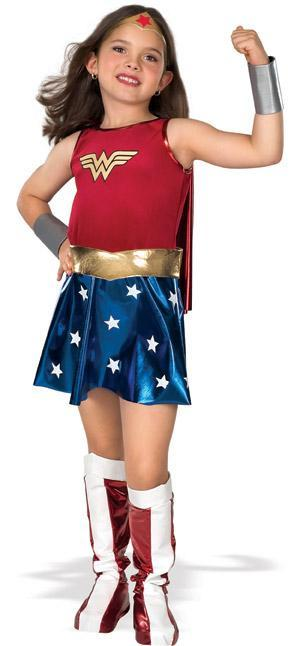 Rubies Costumes LARGE Girls Classic Wonder Woman Costume