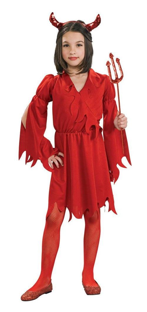 Rubies Costumes LARGE Girls Devil Girl Costume
