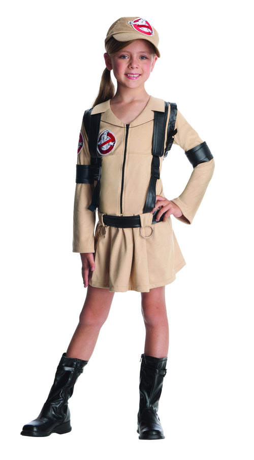 Rubies Costumes LARGE Girls Ghostbusters Costume - Ghostbusters