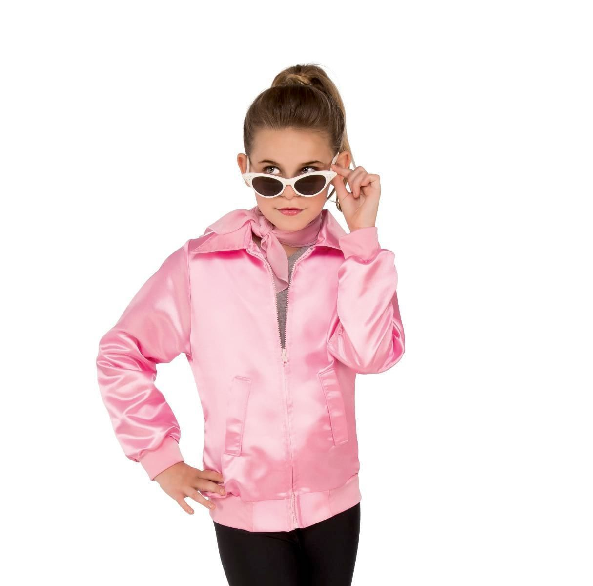 Rubies Costumes LARGE Girls Pink Ladies Jacket - Grease