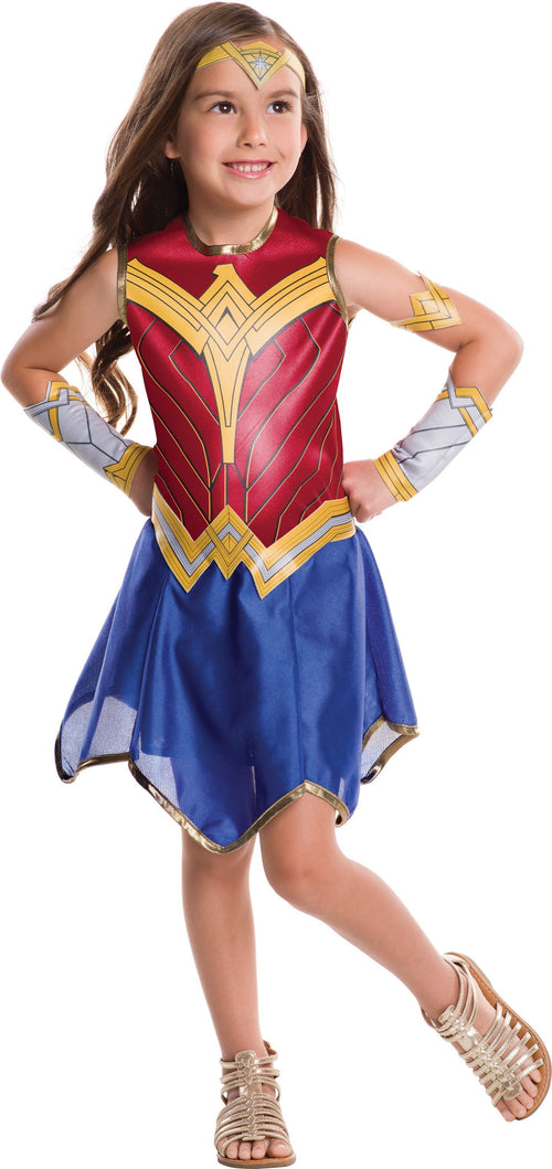 Rubies Costumes LARGE Girls Wonder Woman Costume - Justice League