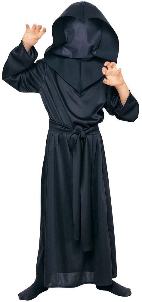 Rubies Costumes LARGE Hidden Face Black Robe