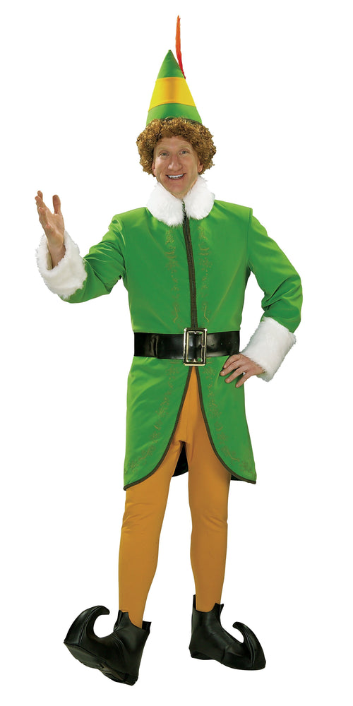 Rubies Costumes Large Men's Buddy Elf Deluxe Costume - Elf Movie