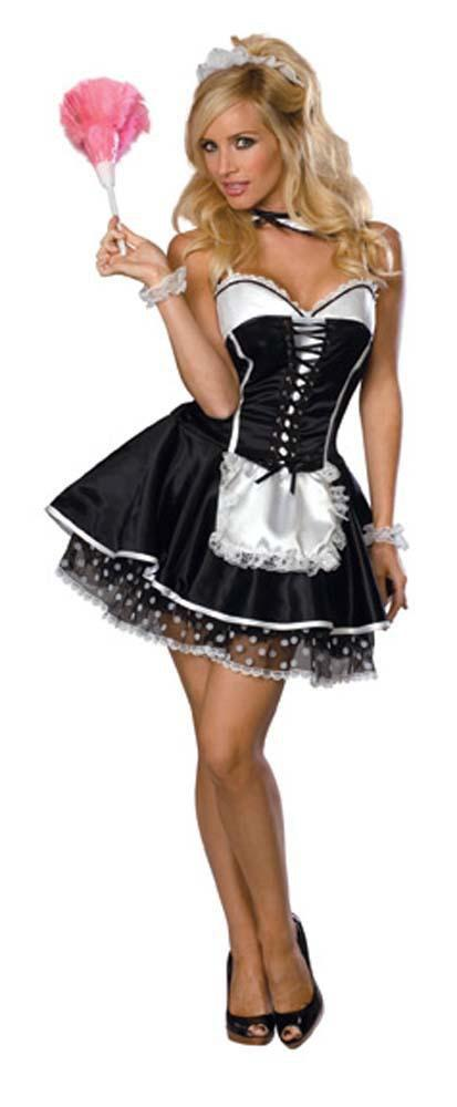 Rubies Costumes LARGE Sassy French Maid Costume