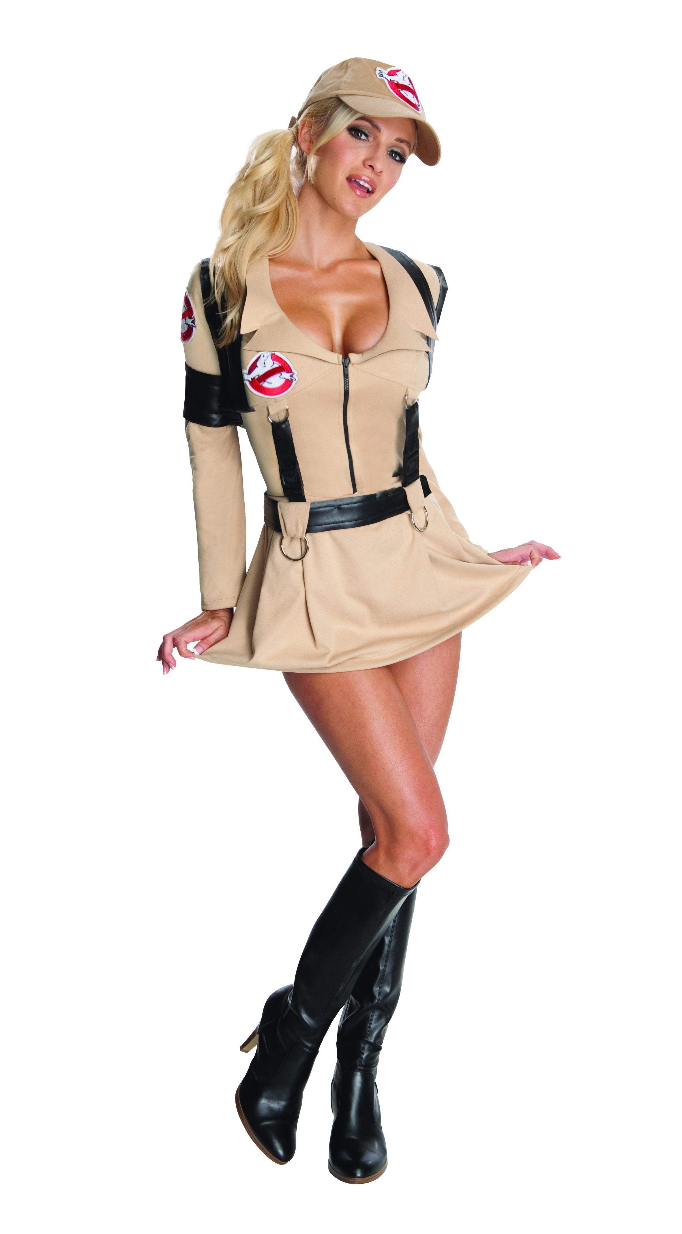 Rubies Costumes LARGE Women's Ghostbuster Costume - Ghostbusters