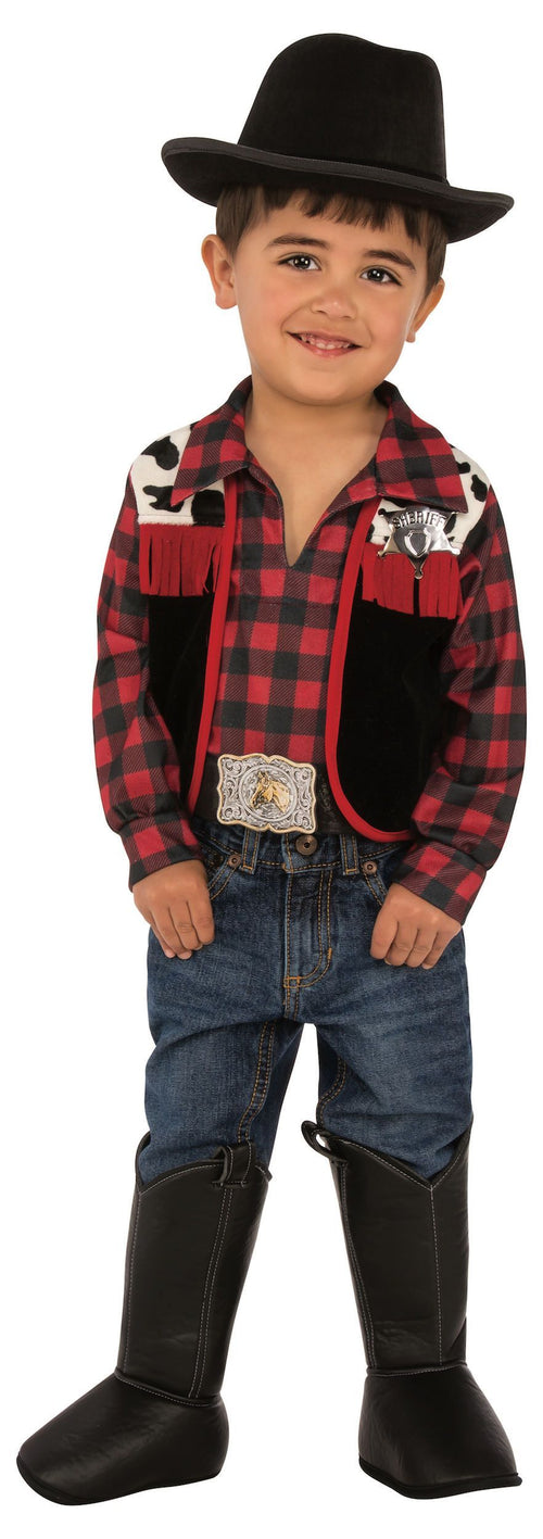 Rubies Costumes MEDIUM Boys Cowboy Costume - Western