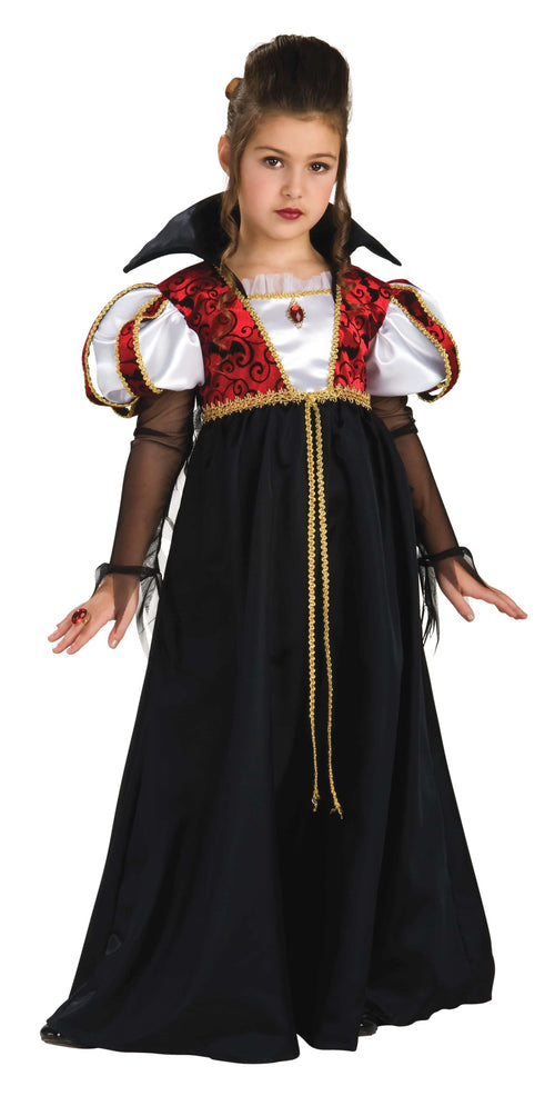 Rubies Costumes MEDIUM Girls Royal Vampira Costume