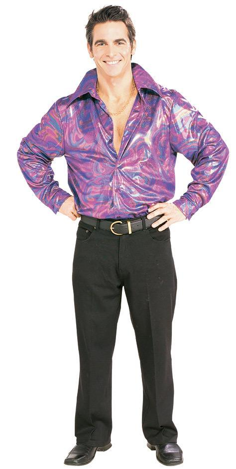 Rubies Costumes Mens Disco Shirt