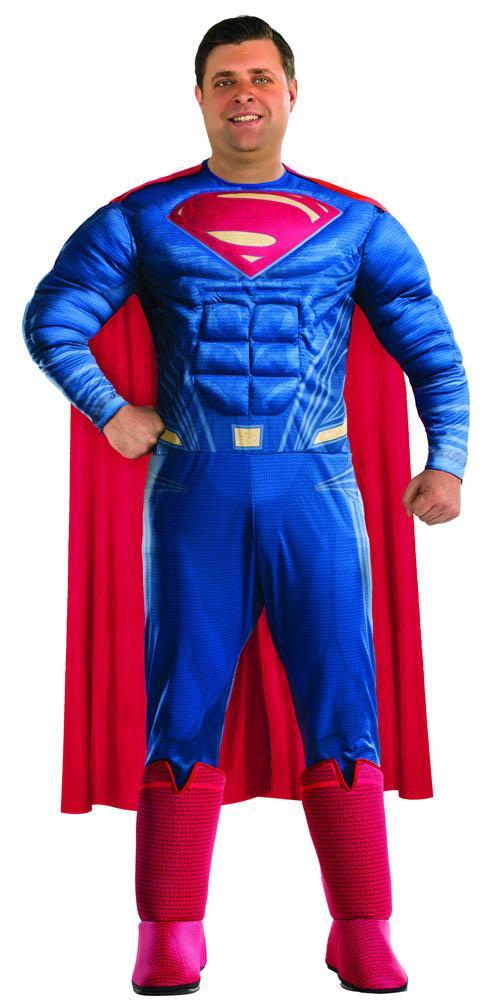 Rubies Costumes Plus Size Deluxe Superman Costume