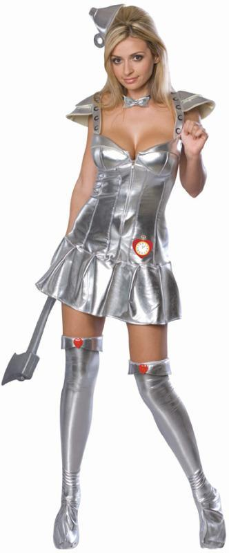 Rubies Costumes Sexy Tin Woman Costume - Wizard of Oz