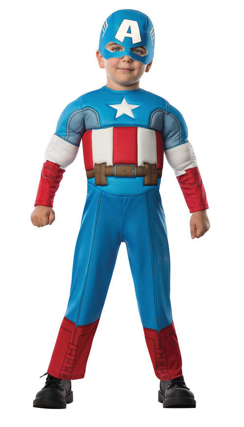 Rubies Costumes Toddler Boys Captain America Costume