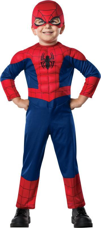 Rubies Costumes Toddler Boys Deluxe Ultimate Spider-Man Costume