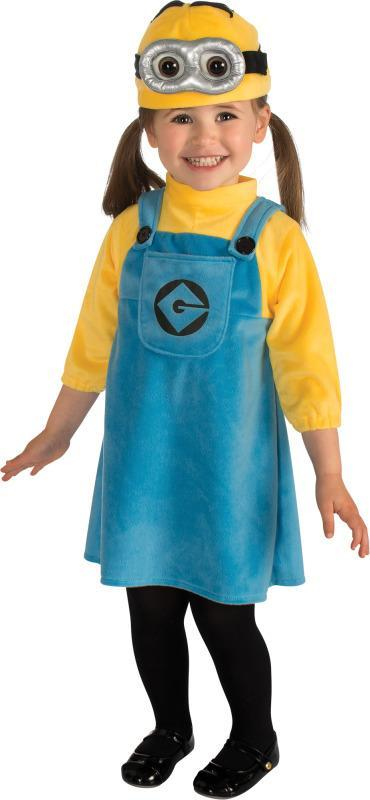 Rubies Costumes Toddler Girls Female Minion Costume - Despicable Me