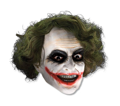 Rubies Masks Adult Joker Mask with Hair - Batman