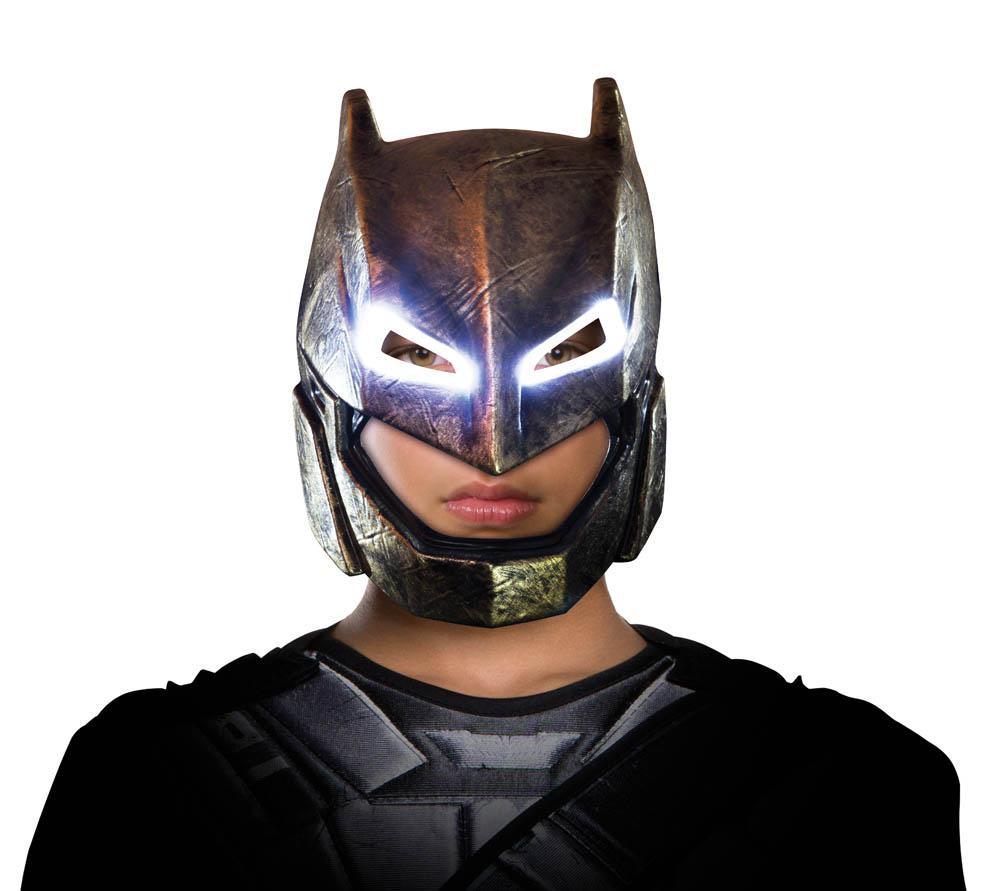 Rubies Masks Boys Batman Armored Light Up Mask