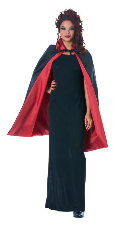 "Rubies Staging 45""Revrsible Taffeta Cape"