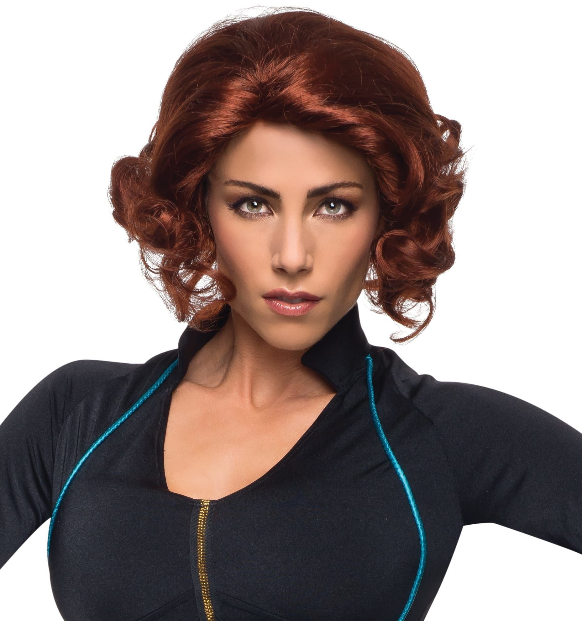 Rubies Wigs Black Widow Wig: Avengers 2 - Superhero
