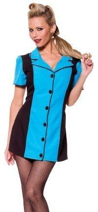 Underwraps Costumes Adult Pin Up Girl Costume - Blue
