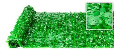 Valley Decorating DECORATION Green Vinyl Floral Sheeting 30ft x 3ft