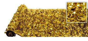 Valley Decorating DECORATION Metallic Gold Floral Sheeting 30ft x 3ft