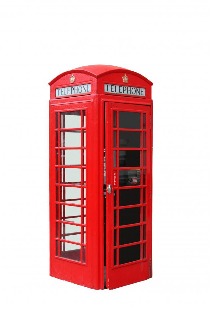 London Telephone Booth Object Wall Mural Sticker