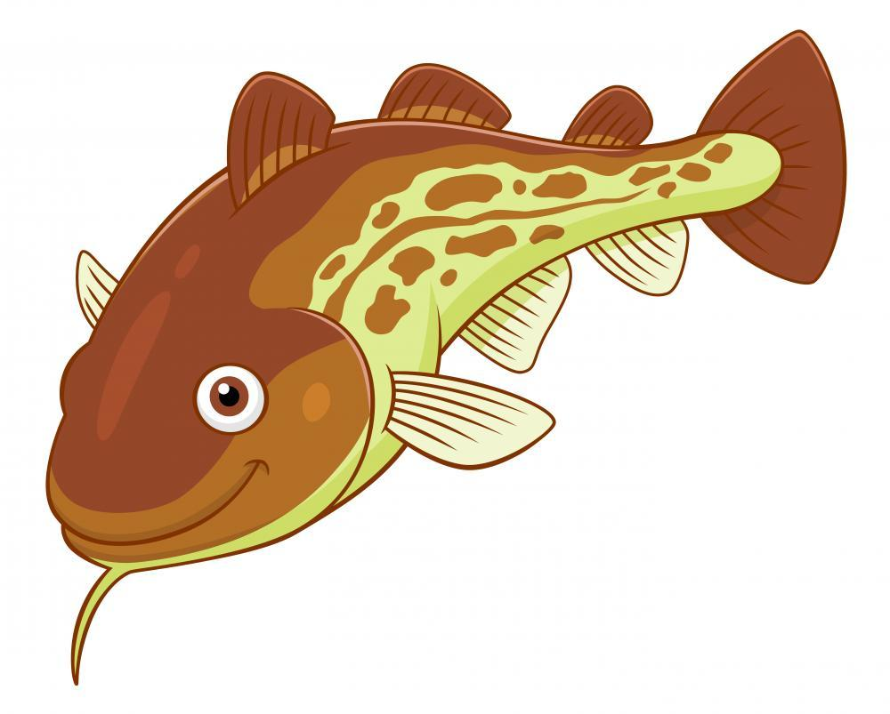 Cartoon Cod Fish Food & Drink Wall Mural Sticker - Food-Drink-Wall-Stickers - Decall.ca