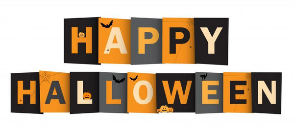 Happy Halloween Vector Letters Holiday Wall Mural Sticker