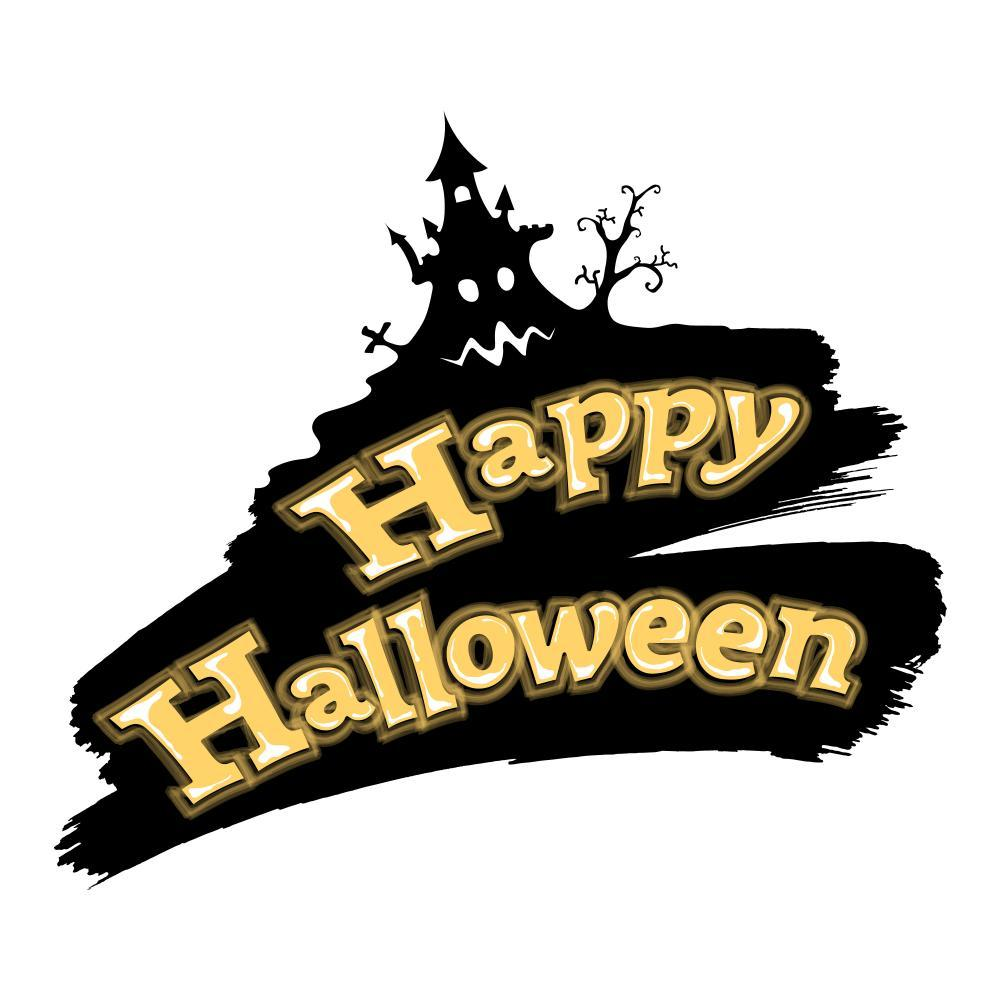 Happy Halloween Holiday Wall Mural Sticker