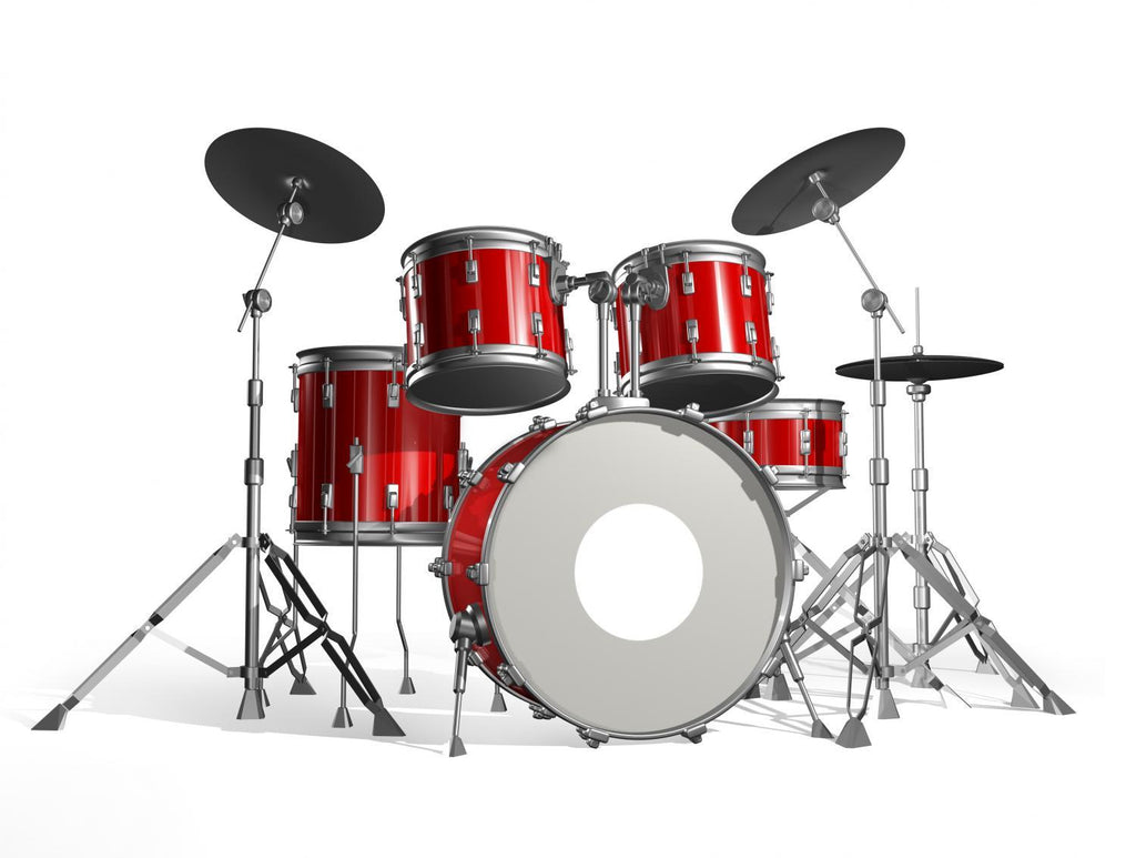 Drums Object Wall Mural Sticker