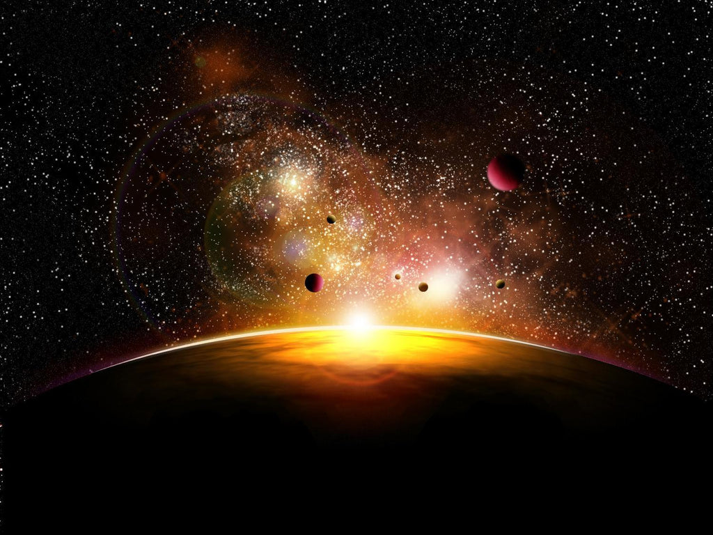 Space and Planets with Space Wall Mural