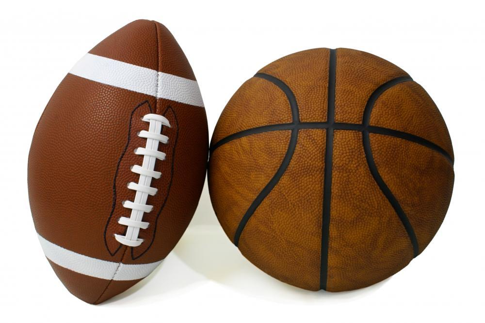American Football and Basketball Sports Wall Sticker