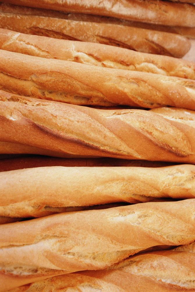 Baguettes Patisserie Paris Close-up Food & Drink Wall Mural - Food-Drink-Wall-Murals - Decall.ca