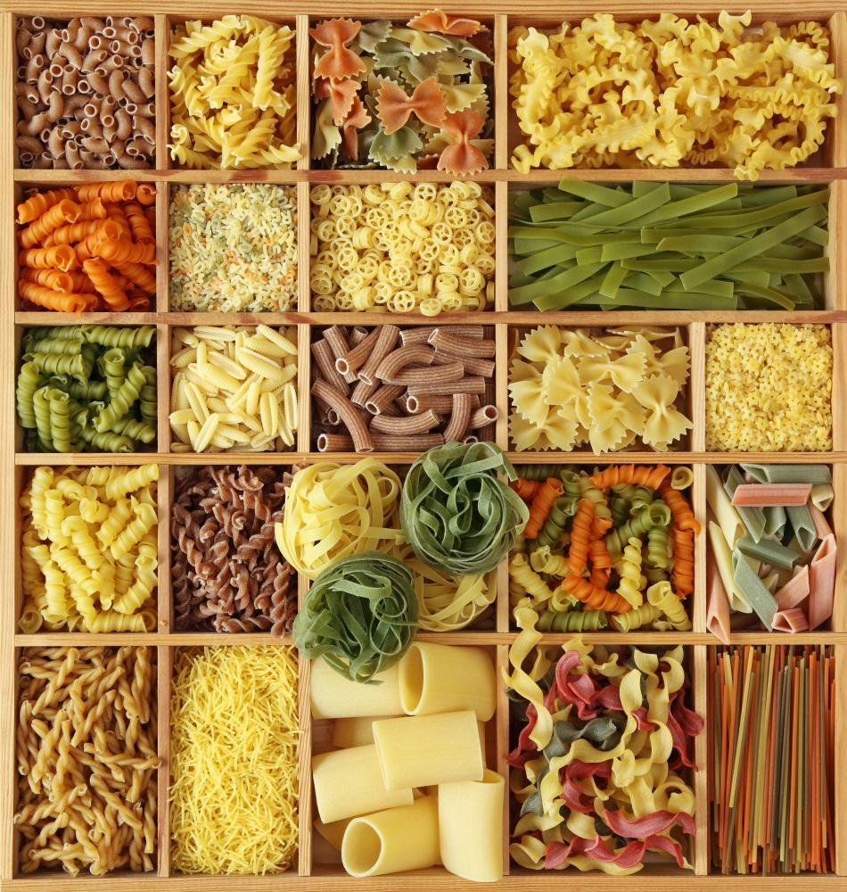 Italian Pasta Collection Wooden Food & Drink Wall Mural