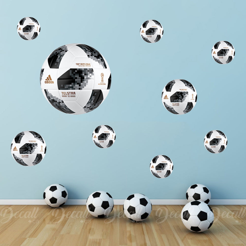 2018 World Cup Ball Wall Stickers - Wall-Stickers - Decall.ca