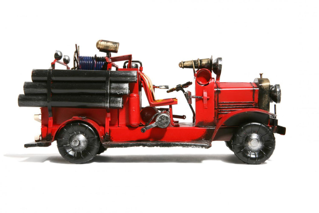 Antique Fire Truck Object Wall Mural Sticker - Object-Wall-Stickers - Decall.ca