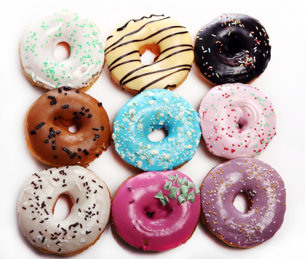Colorful Tasty Donuts Food & Drink Wall Mural Sticker