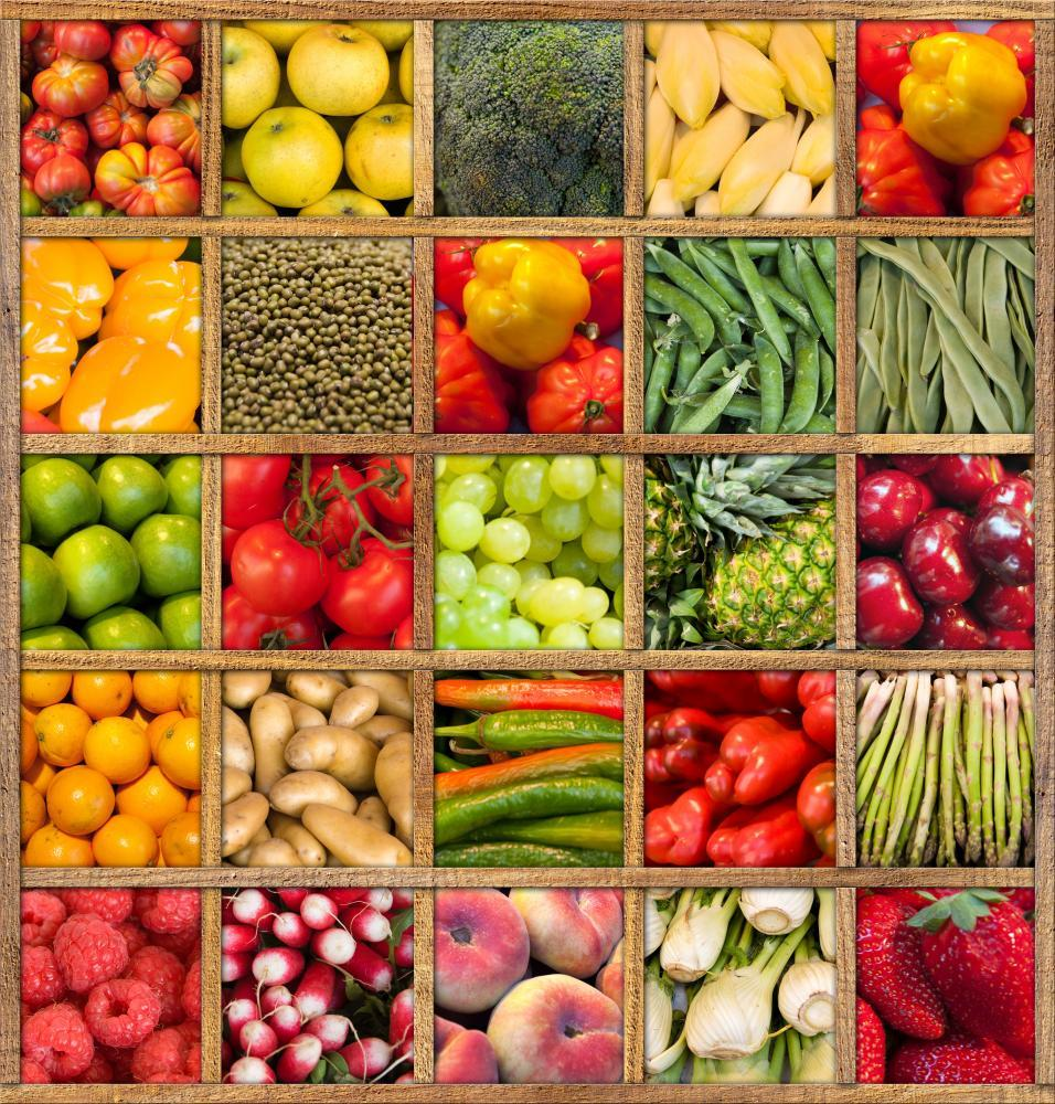 Fruits and Vegetables Collection Food & Drink Wall Mural