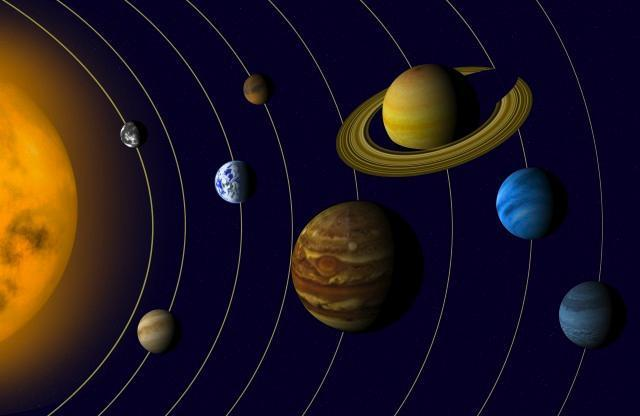 Solar System Space Wall Mural