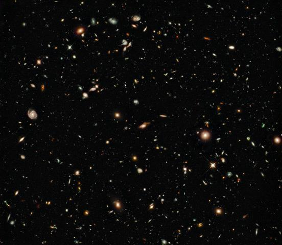 New Galaxies Seen with Space Wall Mural