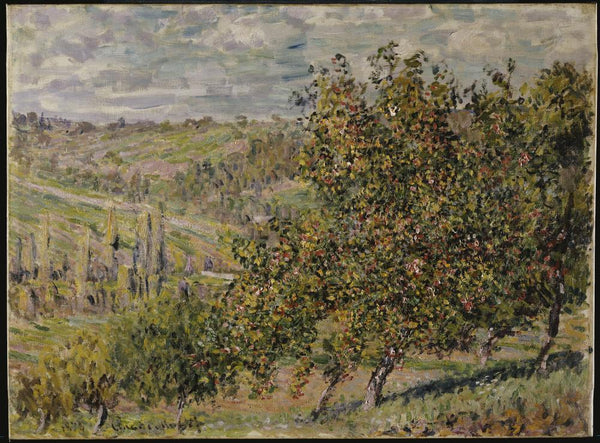 Apple Blossom Claude Monet Fine Art Wall Mural