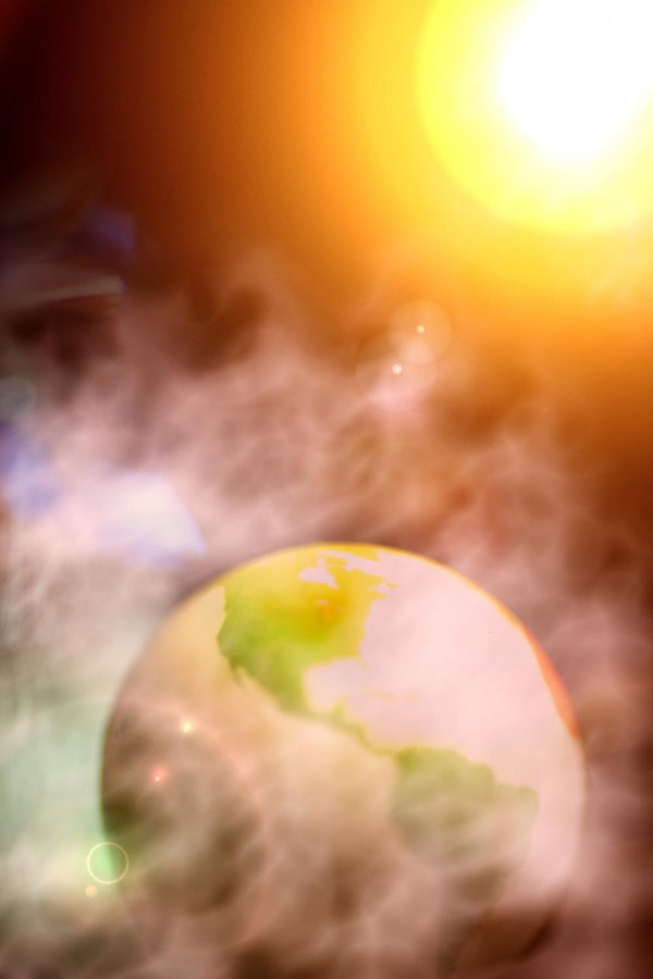 Abstract Photo Surreal Earth Space Wall Mural