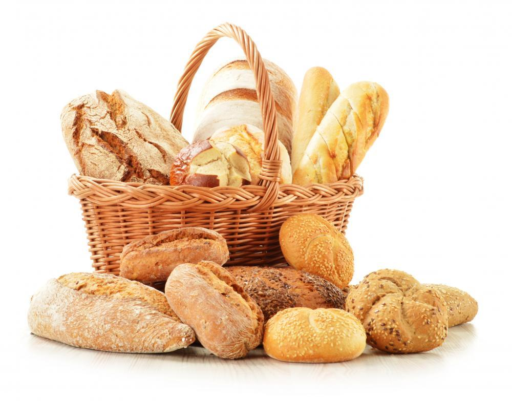 Bread and Rolls Wicker Food & Drink Wall Mural - Food-Drink-Wall-Murals - Decall.ca