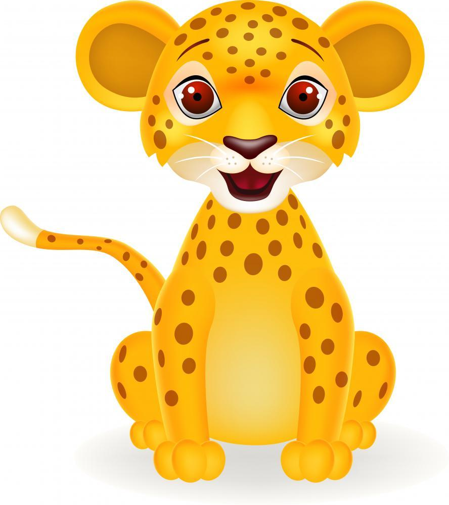 Baby Leopard Wall Mural - Animal-Wall-Stickers - Decall.ca