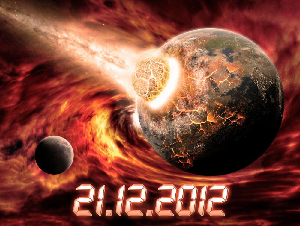 Planet Earth Apocalypse 2012 Space Wall Mural