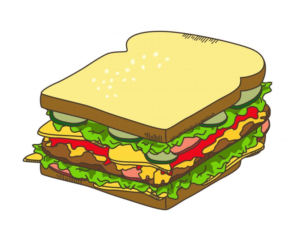 Sandwich Food & Drink Wall Mural Sticker