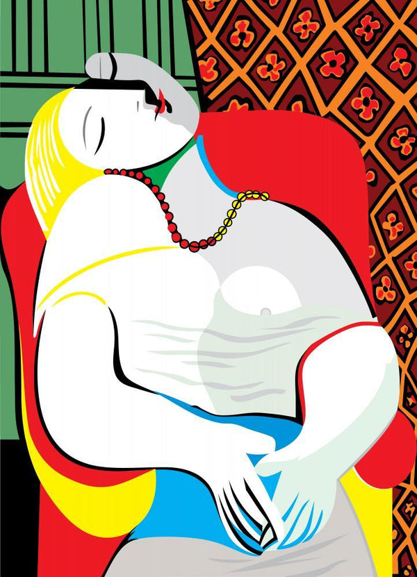 Dream Pablo Picasso Fine Art Wall Mural