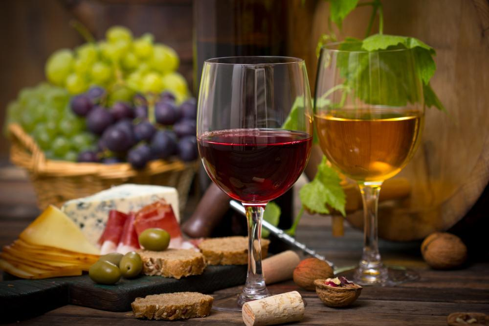 Wine and Cheese Food & Drink Wall Mural