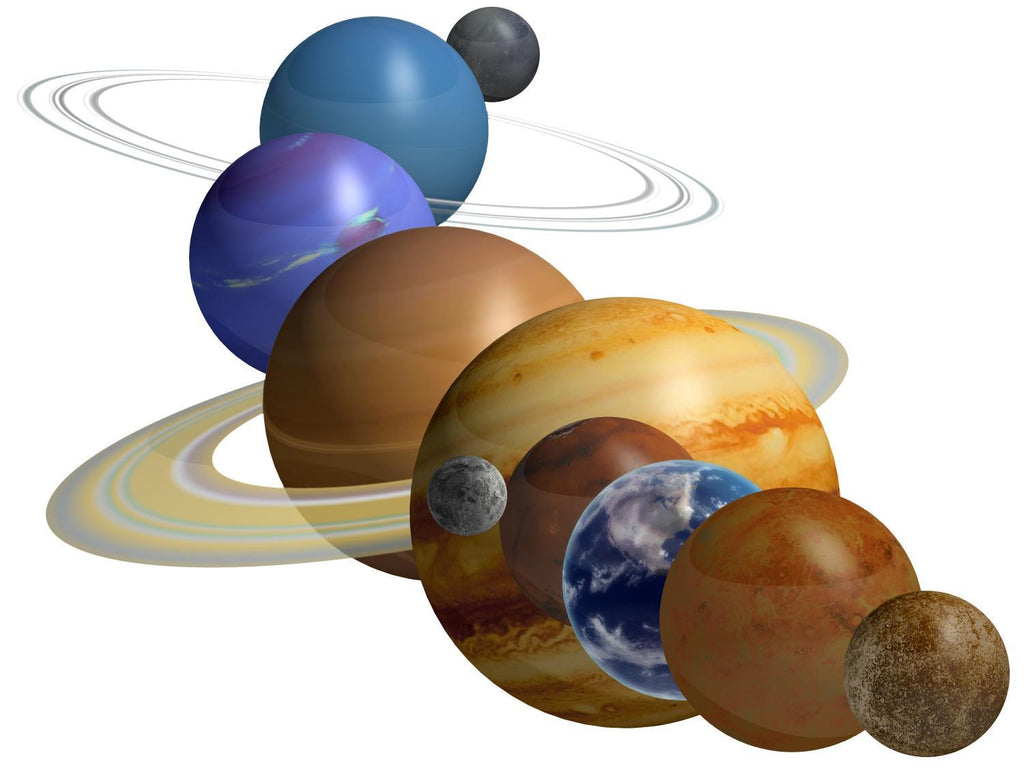 Outer Space Planets Space Wall Mural Sticker